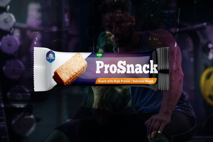 Thumbnail for Protein Bar Snack Packaging
