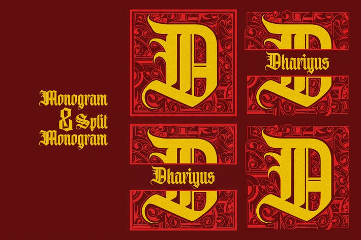 Cover Image For Monogram D