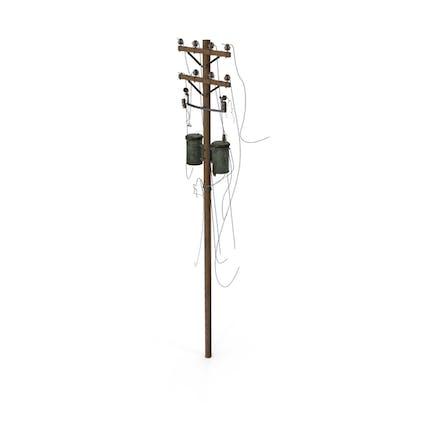 Stromleitungen heruntergefahren