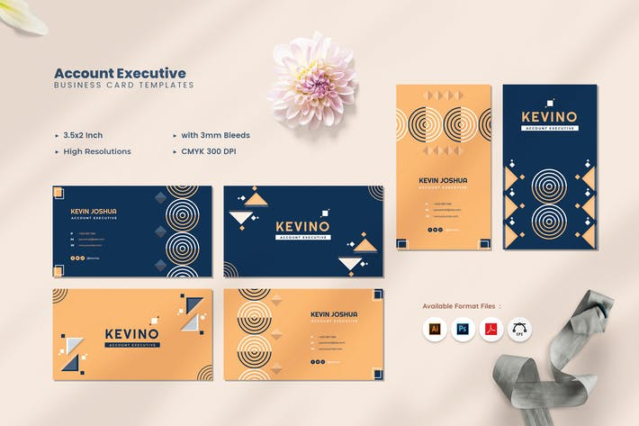 Thumbnail for Account Executive Business Card