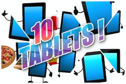 10 lustige Tablets!