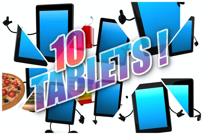 Thumbnail for 10 fun Tablets !