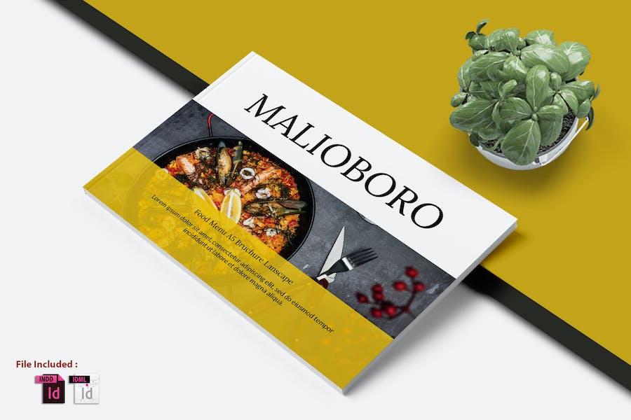 A5 MALIOBORO FOOD MENU TEMPLATE