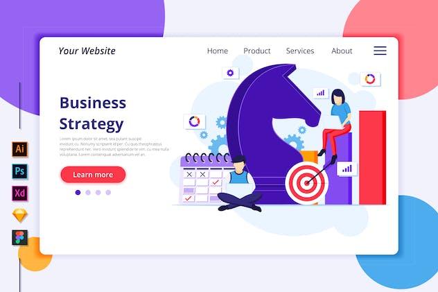 Agnytemp - Business strategy Illustration v4