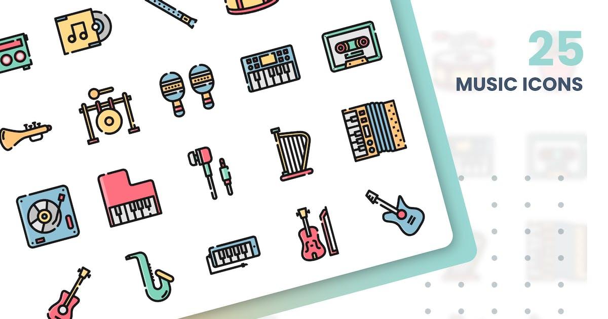 Download Music Icons Set by grafikonteam
