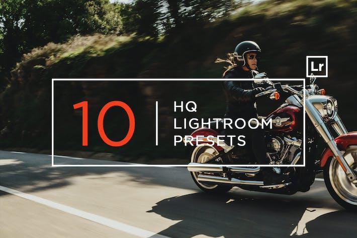 Thumbnail for 10 Ajustes preestablecidos de Lightroom HQ