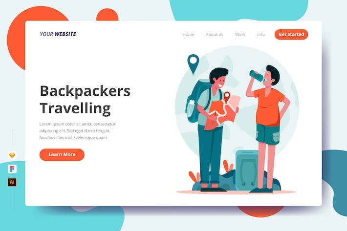 Thumbnail for Backpackers Travelling - Landing Page