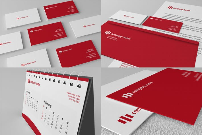 Cover Image For Stationery Mockups