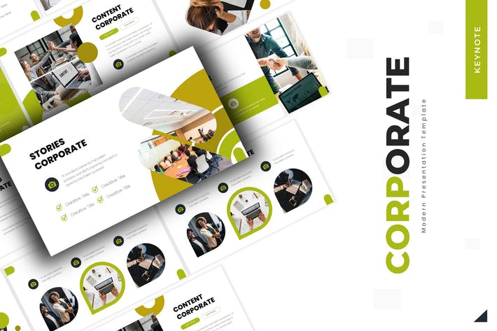 Thumbnail for Corporate - Keynote Template