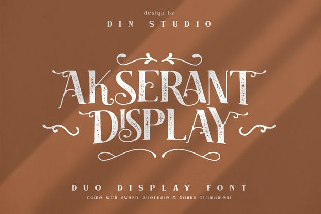 Akserant Display Font
