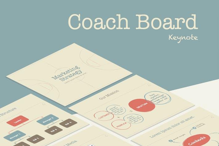 Thumbnail for Coach Board Keynote Template