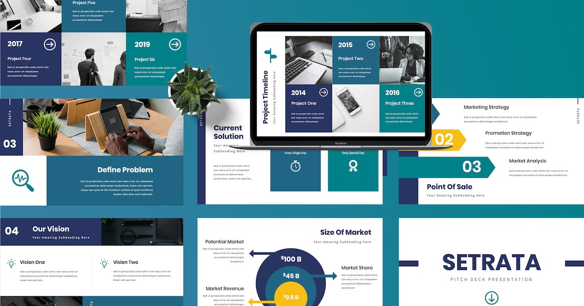 Download Setrata - Pitch Deck Powerpoint Presentation by TMint