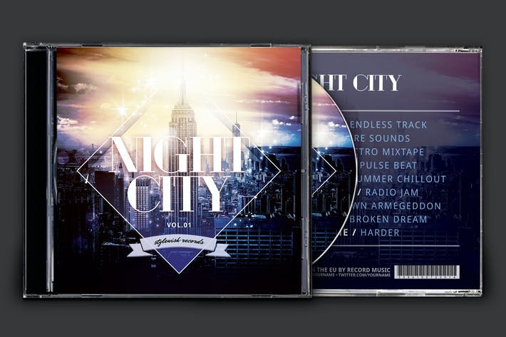 Cover Image For Night City CD Cover Artwork