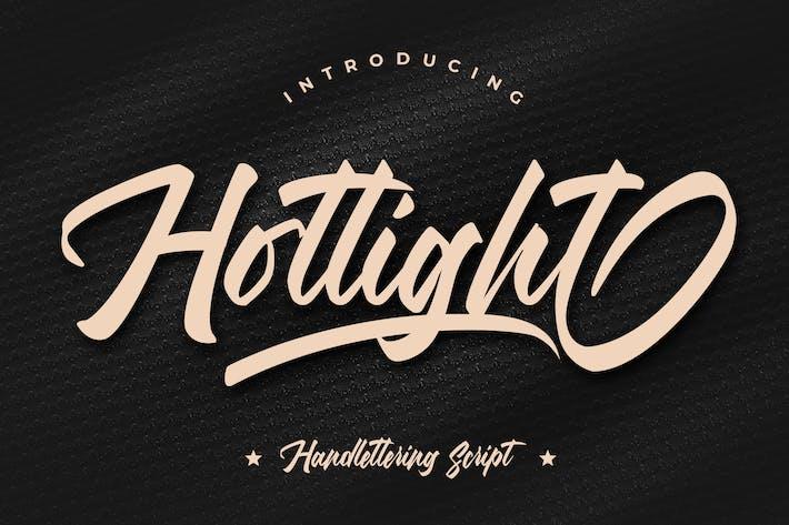 Thumbnail for Hotlight Handlettering Script