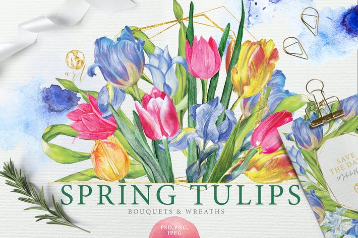 Thumbnail for SPRING TULIPS
