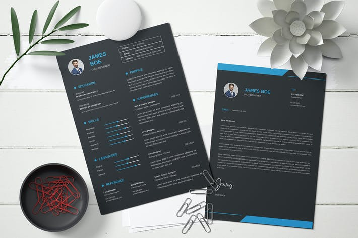 Thumbnail for Professional CV and Resume templates