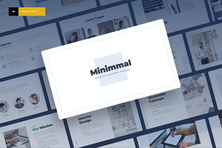Thumbnail for Minimmal - Minimalist Google Slides Presentation