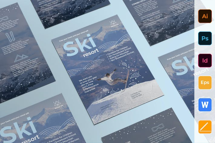 Thumbnail for Ski Resort Flyer