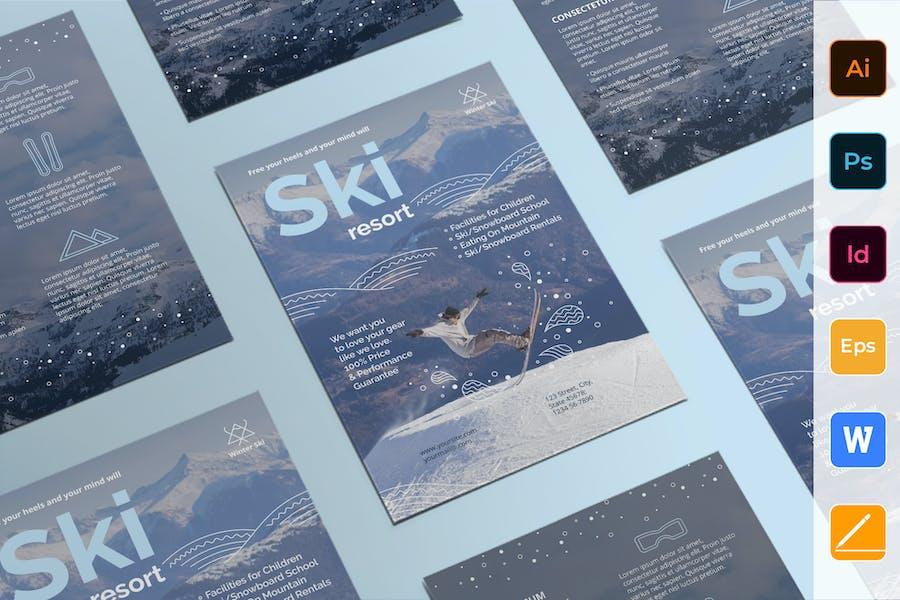 Ski Resort Flyer