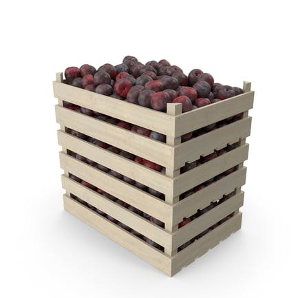 Crates of Plums