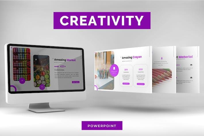 Thumbnail for Creativity - Google Slide Template