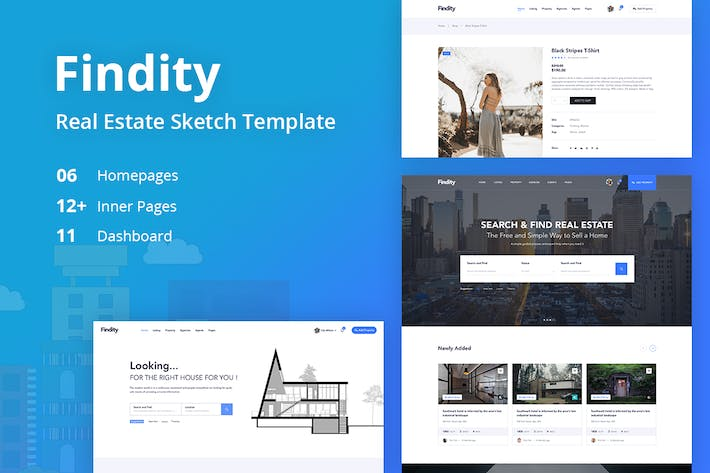 Thumbnail for Findity - Real Estate Template