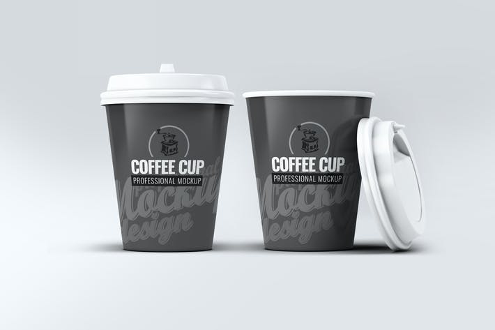 Cover Image For Coffee Cup Mock-Up V.1