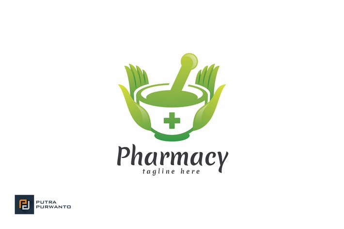 Thumbnail for Pharmacy - Logo Template