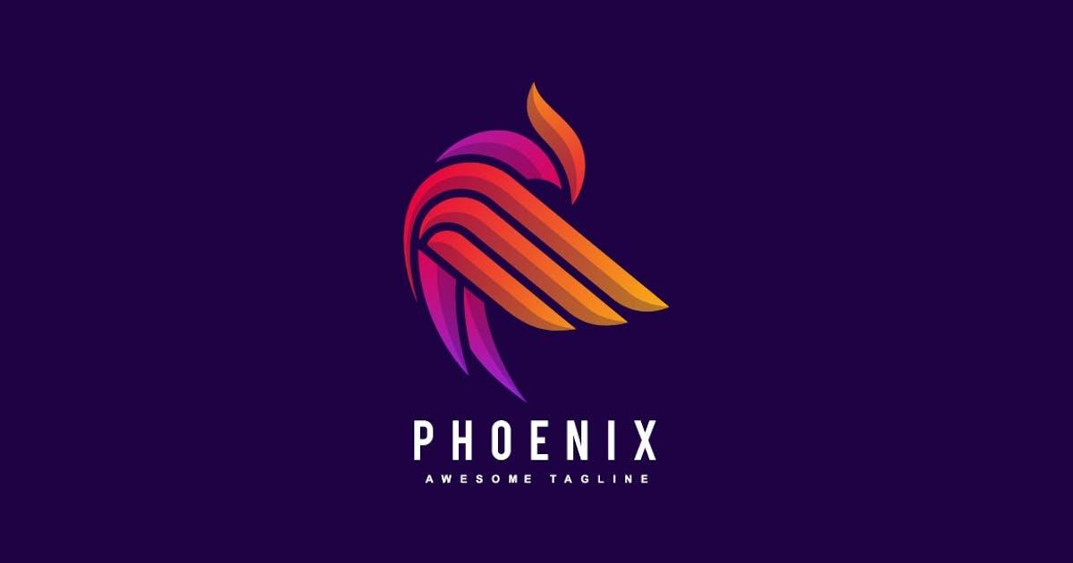 Download Bird Phoenix Colorful Logo by ivan_artnivora
