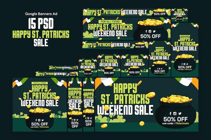Bannières de la Saint-Patrick