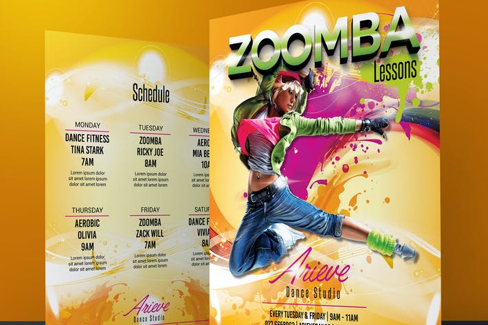 Thumbnail for Zumba / Fitness Flyer
