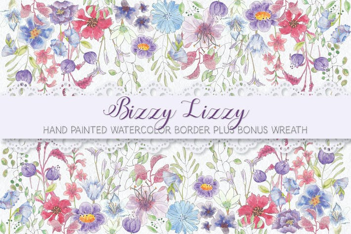 "Thumbnail for ""Bizzy Lizzy"" Border"