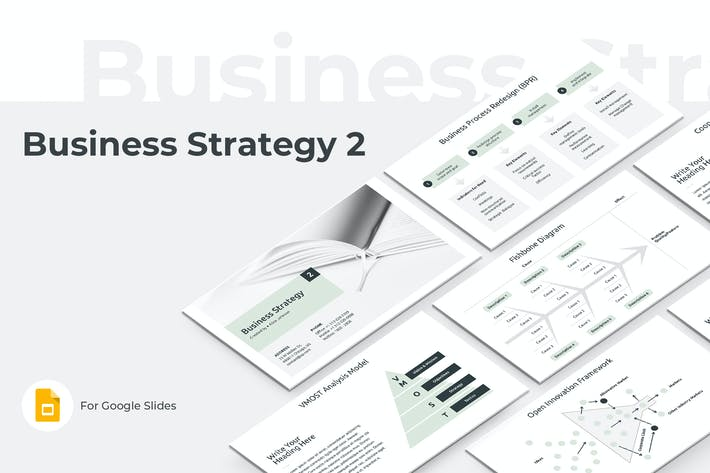 Thumbnail for Business Strategy Two Google Slides Template