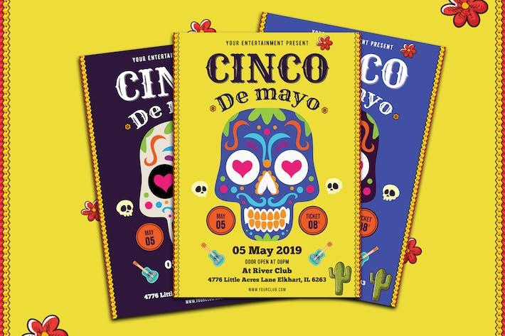 Thumbnail for Cinco De Mayo Flyer-02