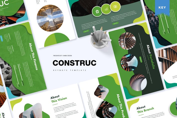 Thumbnail for Construct | Keynote Template