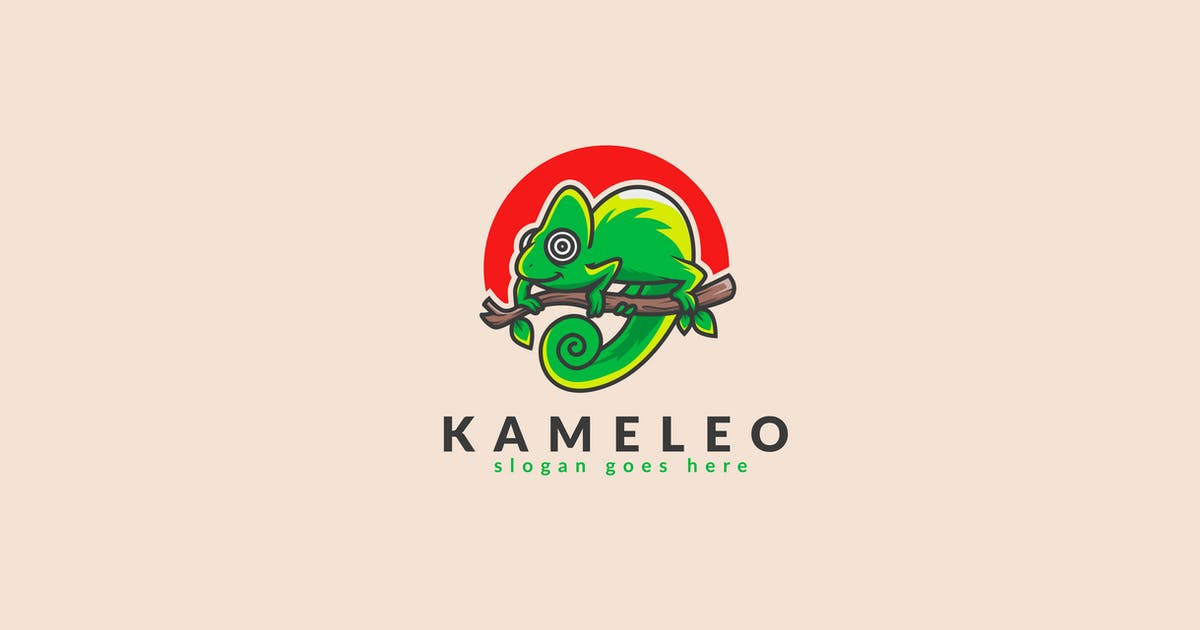 Download Camelleon Logo Template by Slidehack