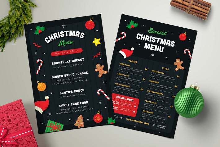 Thumbnail for Christmas Menu