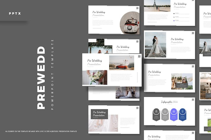 Cover Image For Prewedd - Powerpoint Template