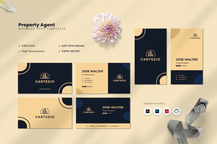 Thumbnail for Property Agent Business Card