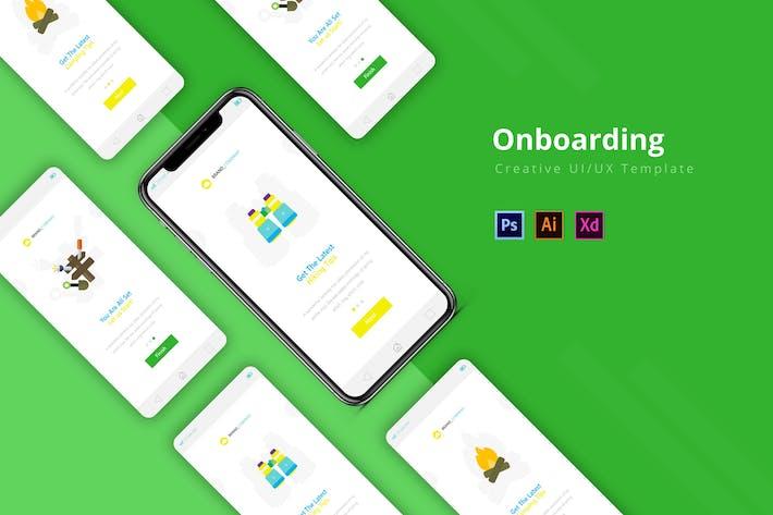 Thumbnail for Onboarding App