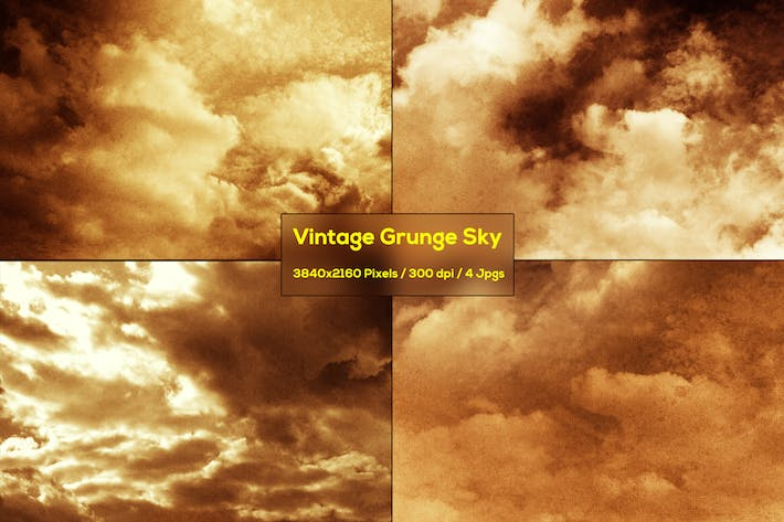 Thumbnail for Vintage Grunge Sky Backgrounds