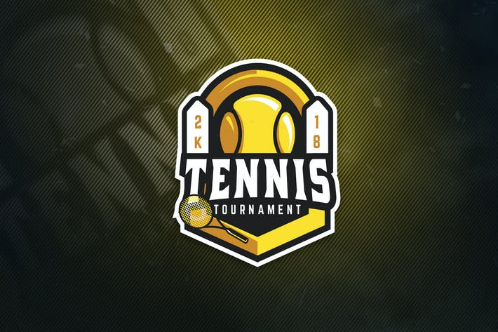 Thumbnail for Tennis Tournament Sports Logo