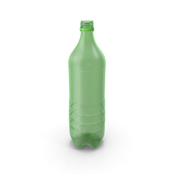 Plastic Bottle Empty No Label