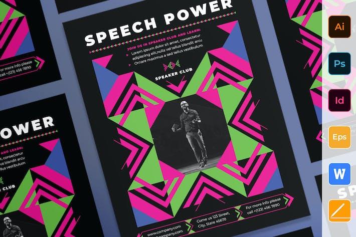 Thumbnail for Speaker Poster