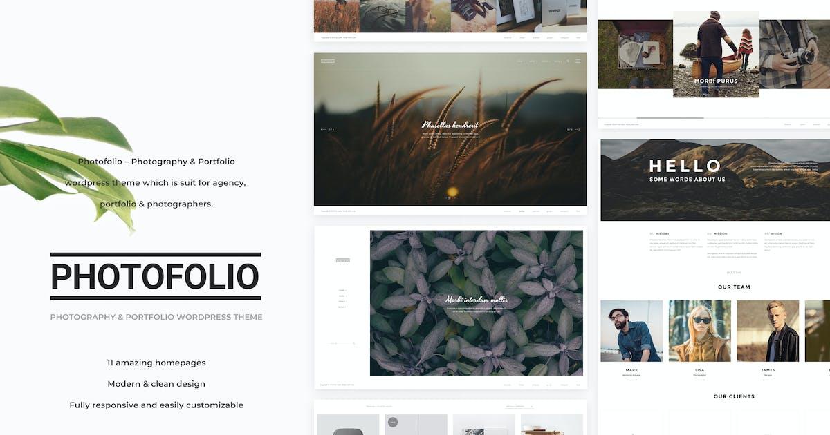 Download Photofolio - Photography WordPress Theme by Nunforest
