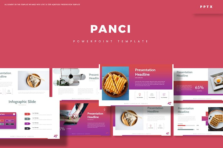 Cover Image For Panci - Powerpoint Template