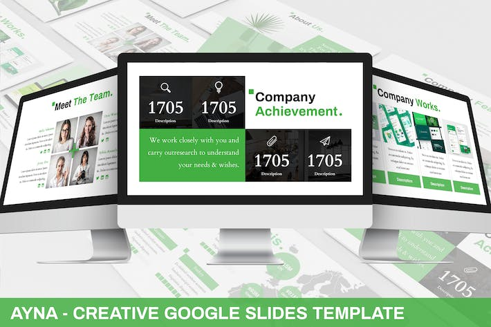 Thumbnail for Ayna - Creative Google Slides Template