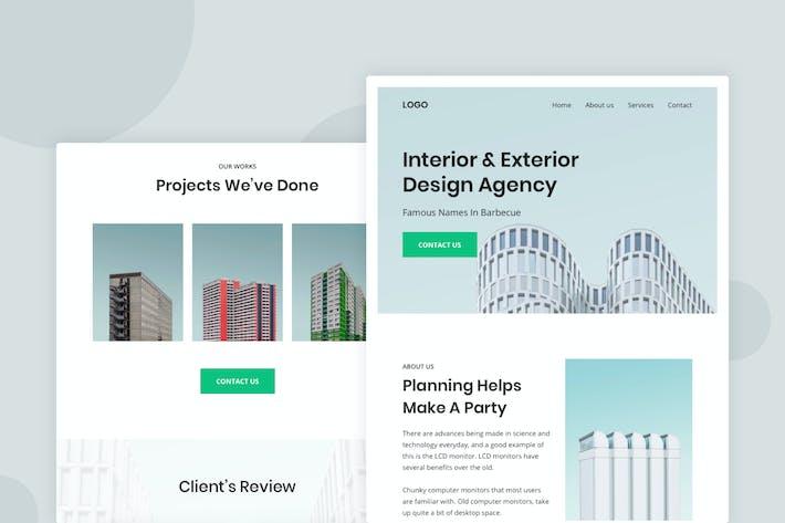 Thumbnail for Architechture - Email Newsletter