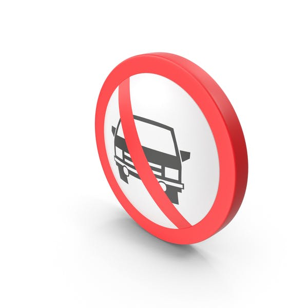 Thumbnail for No Cars Traffic Sign