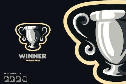 Winner Champs - Logo design vector